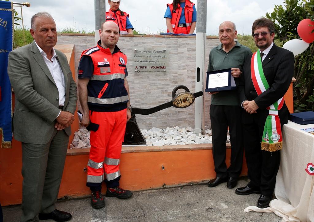 Inaugurazione leva scambio sede P.A. Signa